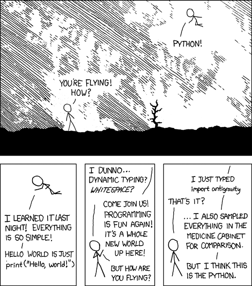 xkcd - Python (fixed for 3)